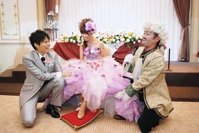 ゲストを巻き込んだ演出はとても盛り上がりました♪ 結婚式